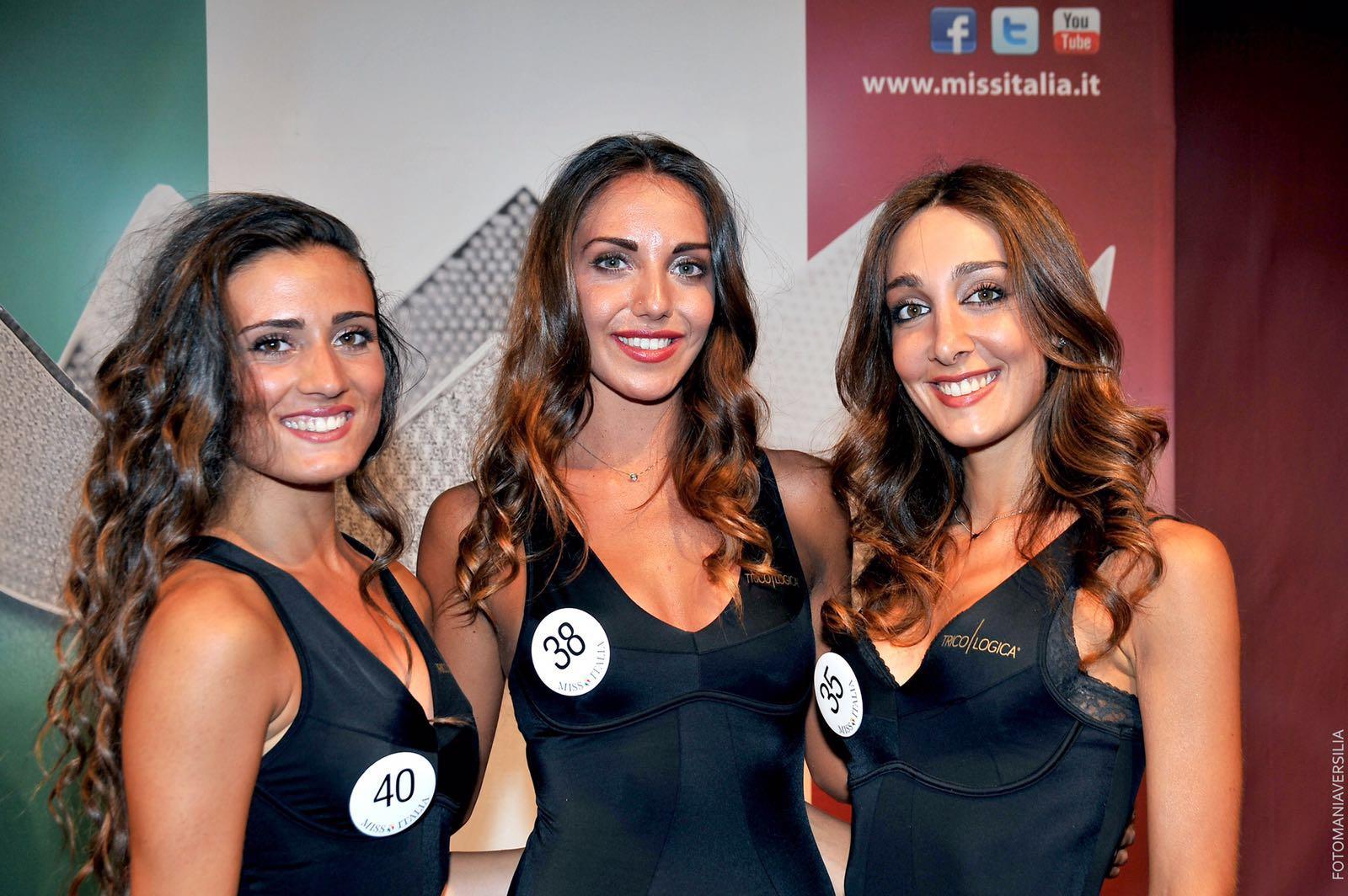 Miss Italia, tre versiliesi alla finale regionale