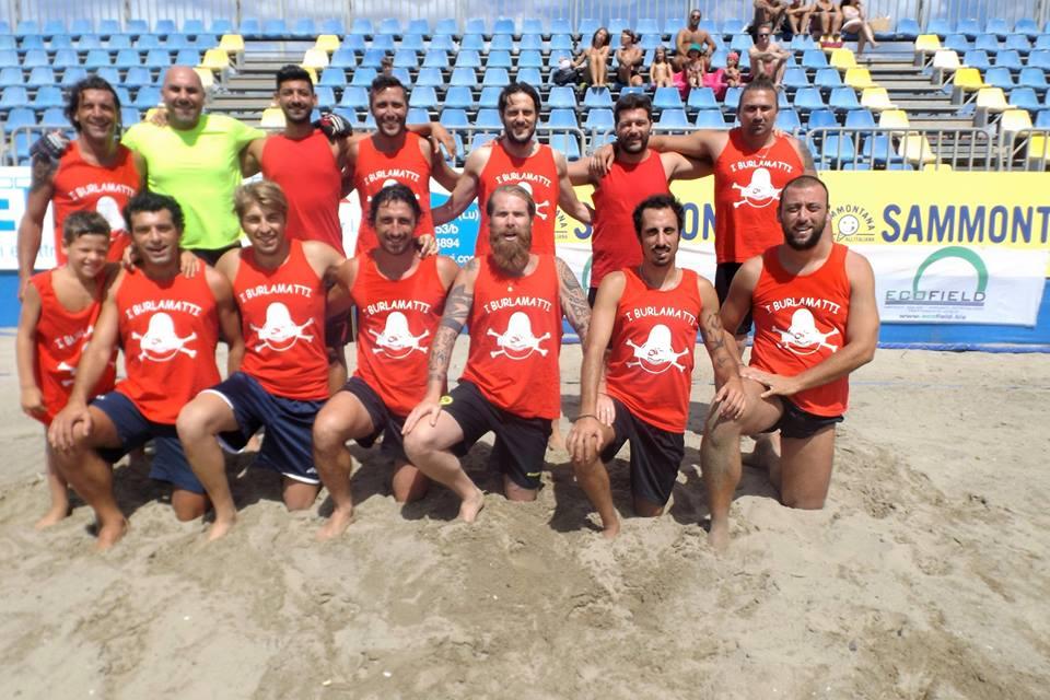 Beach soccer le semifinaliste del da valle beach soccer sport - Bagno flora viareggio ...