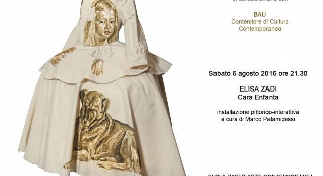 Cara Enfanta di Elisa Zadi alla Galleria Paola Raffo