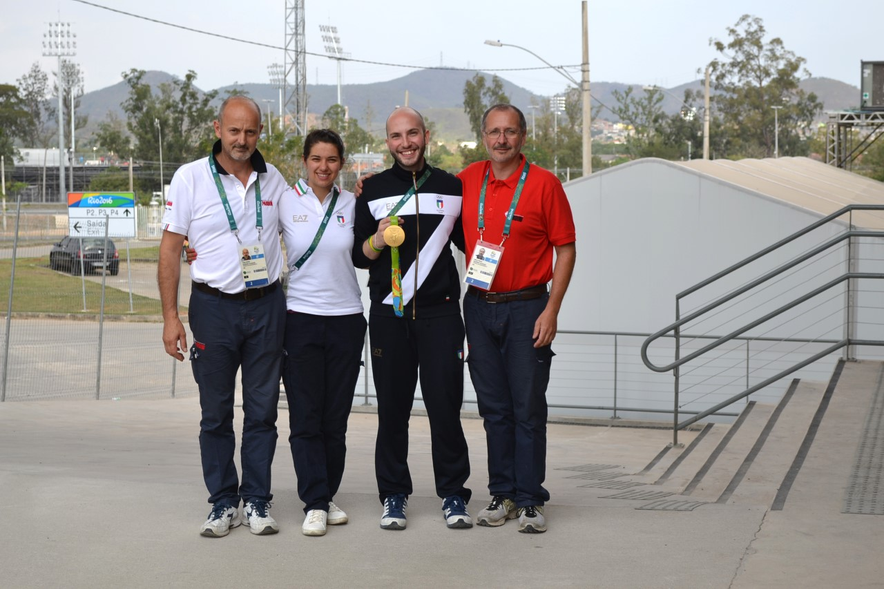 7 medaglie olimpiche per la Pardini Armi