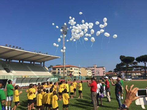 Gli allenatori della scuola calcio del Viareggio