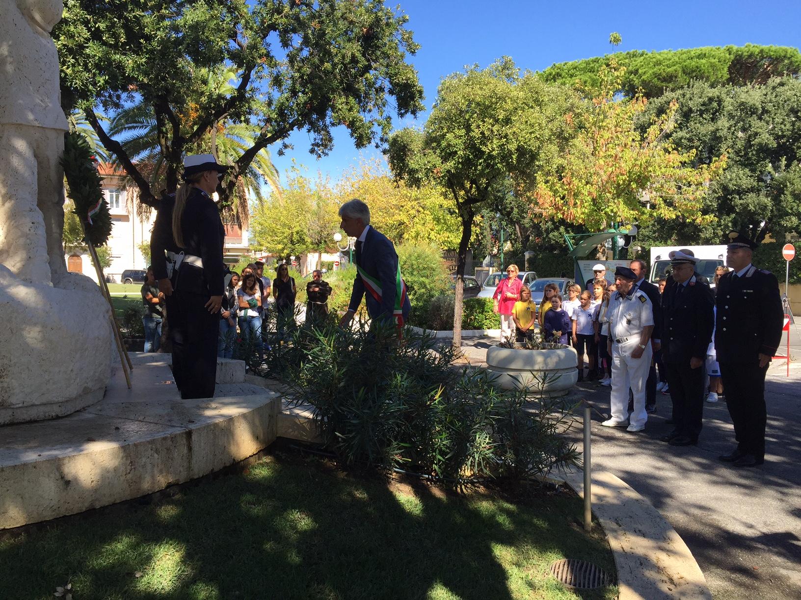 Anniversario Liberazione, cerimonia a Forte dei Marmi