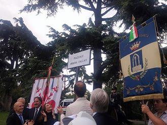 Piazzale intitolato a Oriana Fallaci a Firenze, Pietrasanta c'è