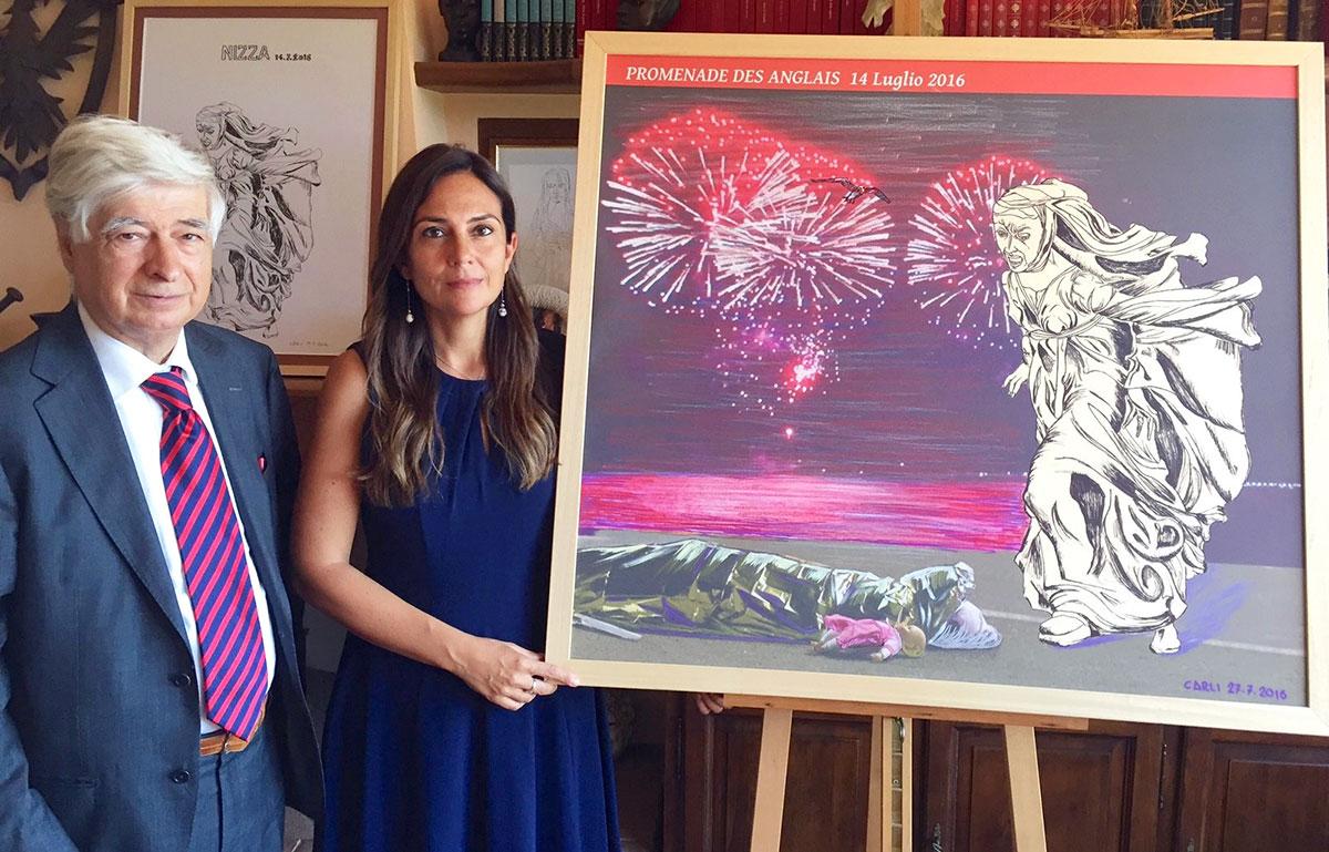 """""""Promenade des Anglais"""". A Nizza l'opera di Carlo Carli sull'attentato terroristico"""