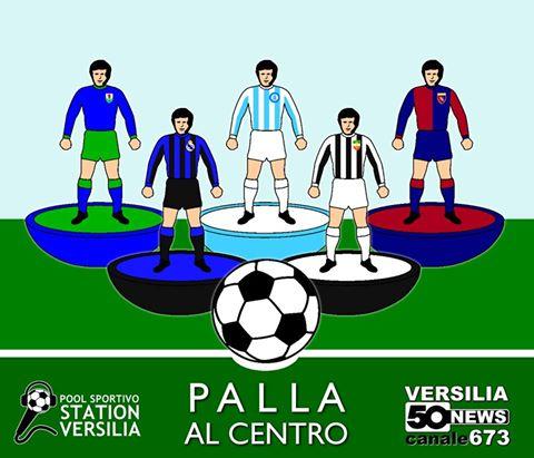 """Al via """"Palla al centro"""", la nuova trasmissione sul calcio di 50News Versilia"""
