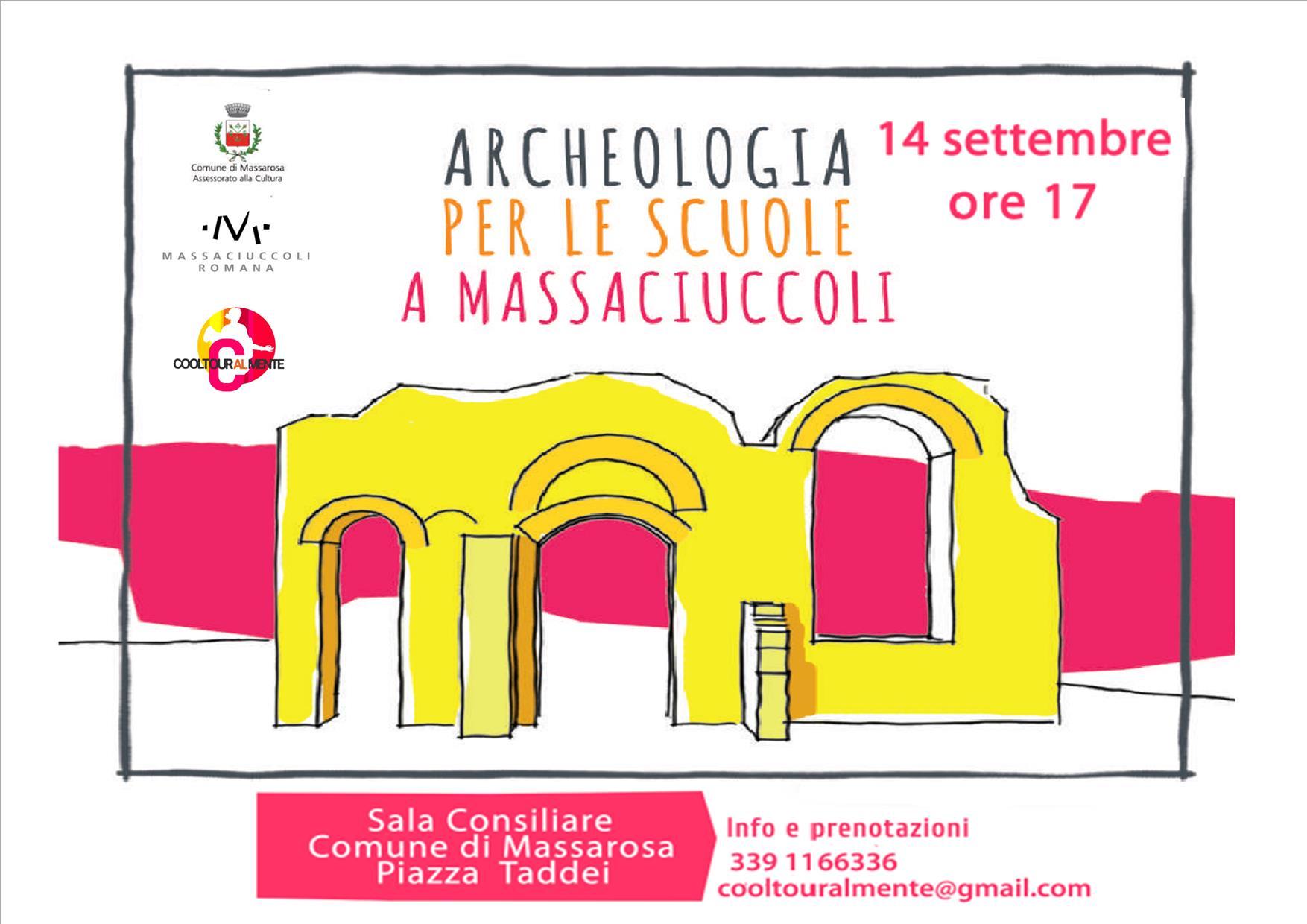 Archeologia per le scuole a Massarosa