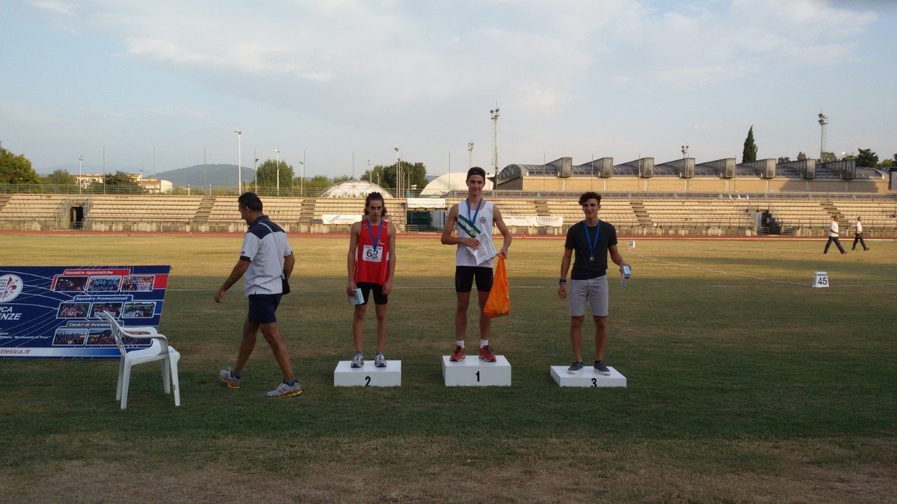 Giacomo Bianchini campione toscano Allievi sui 400 metri