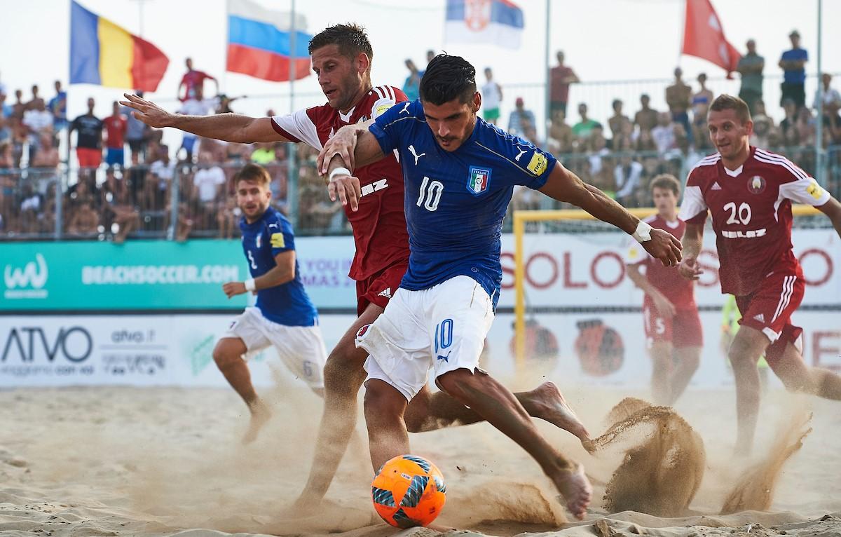 Beach soccer, Gori in lizza per il premio di giocatore dell'anno