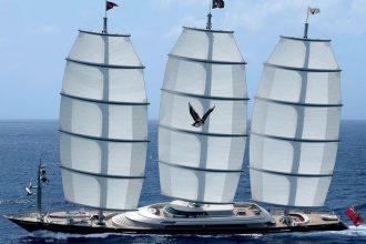 Falcone Maltese - Maltese Falcon in navigazione