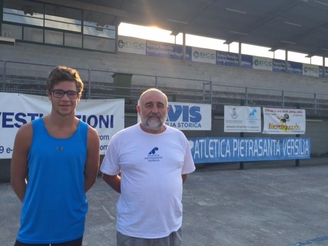 Leonardo Tommasi campione toscano Allievi di salto triplo