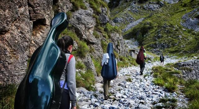 Musica sulle Apuane 2016, grande successo per i concerti in quota del Cai