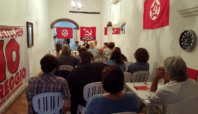 """La Festa del Partito Comunista e le ragioni del """"No"""""""