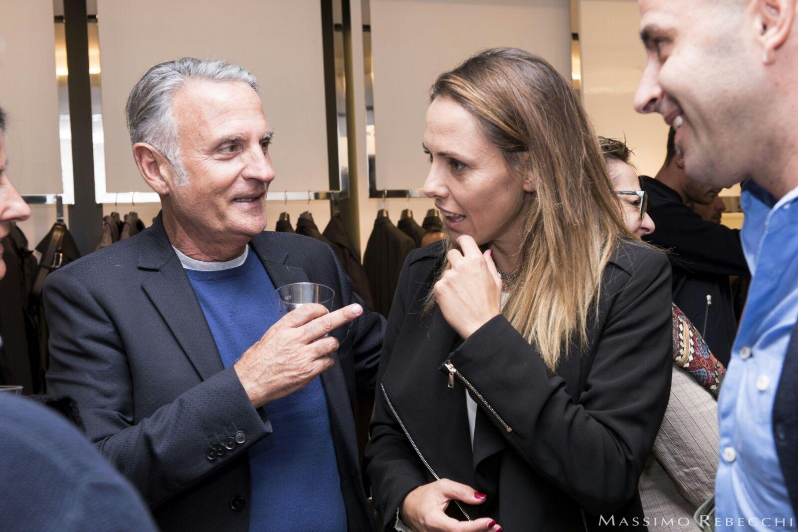 Serata di moda e sport organizzata da Massimo Rebecchi