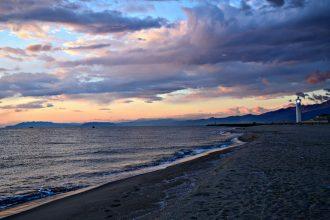 Il faro sulla spiaggia