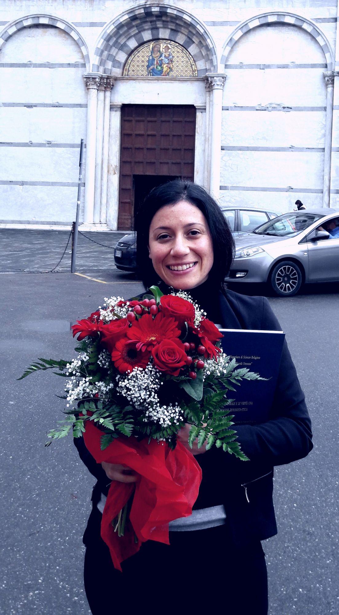 Congratulazioni alla neolaureata Maria Elena Giannecchini