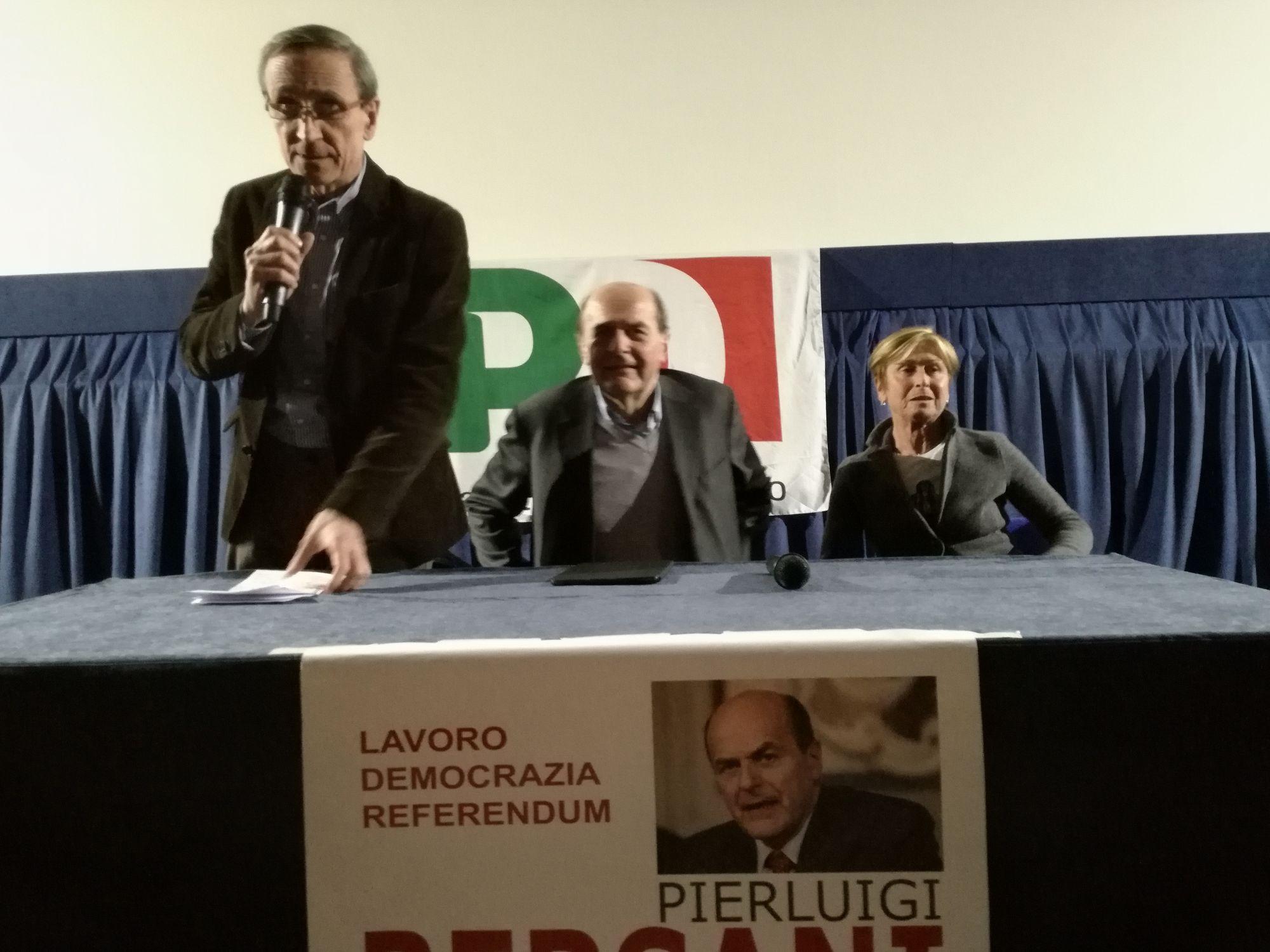 Pierluigi Bersani a Viareggio