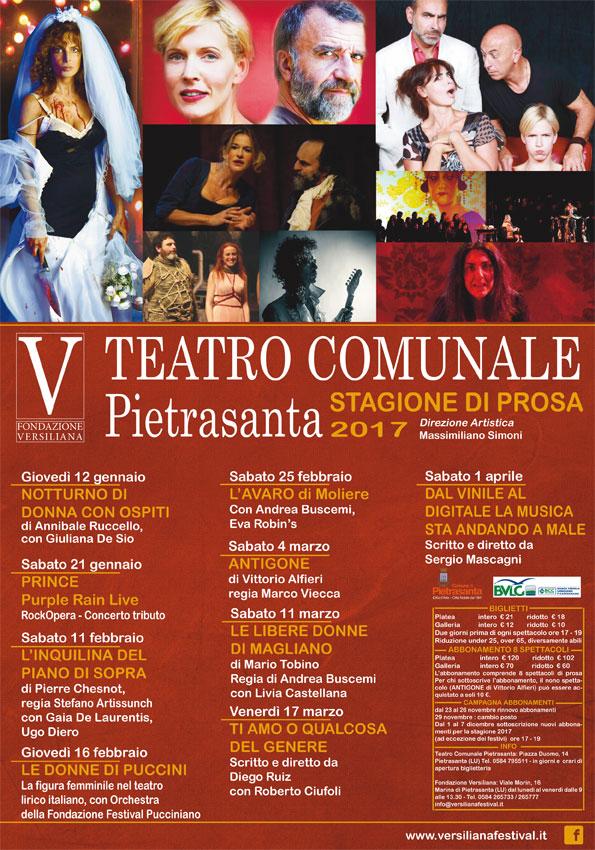 Teatro Comunale, presentato il cartellone invernale della stagione di prosa