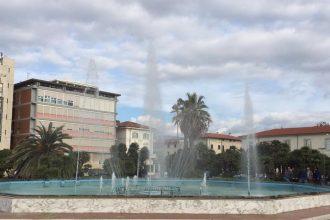 Fontana di Piazza Mazzini a Viareggio