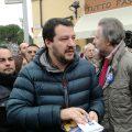 Matteo Salvini in Versilia