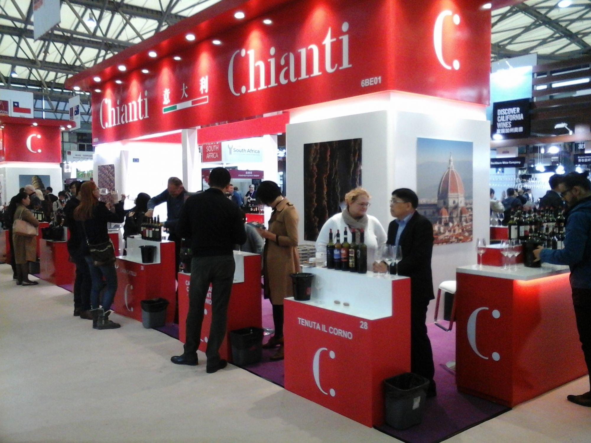 Il Chianti a Shangai, un successo made in Italy
