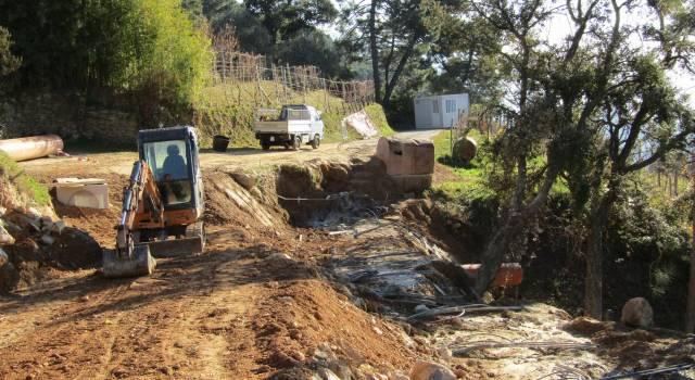 Finanziamenti per i lavori di ricostruzione della frana a Metati Rossi