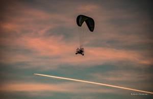 Voli al tramonto