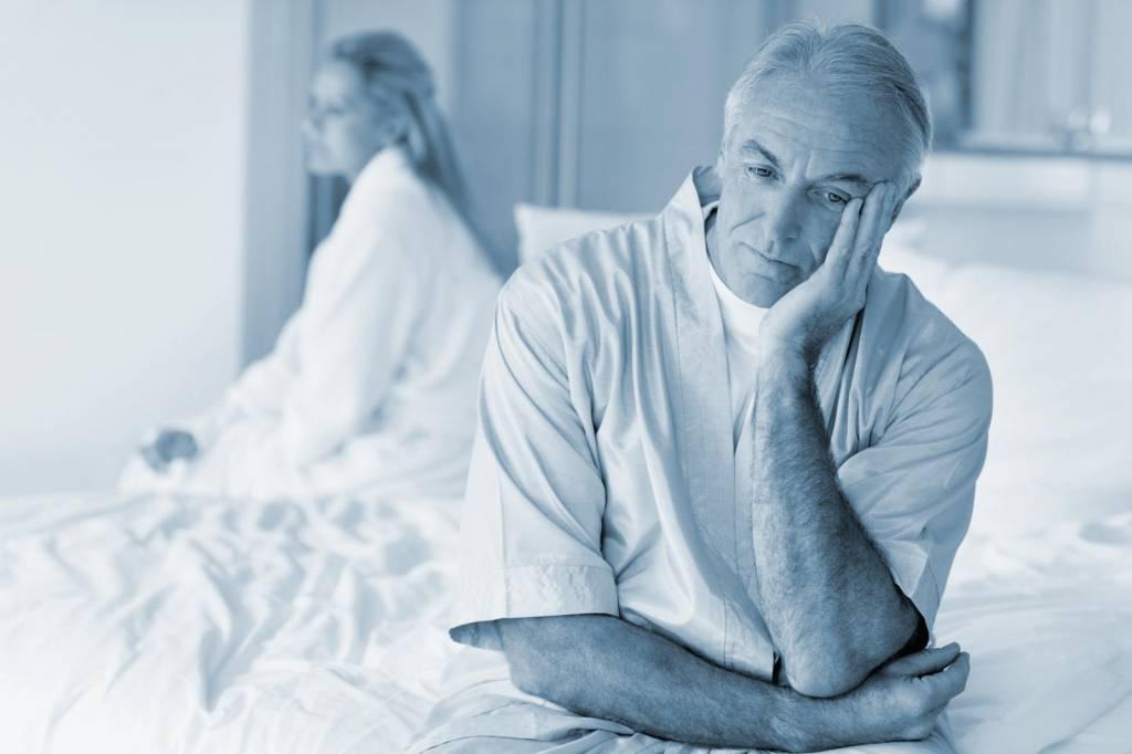 declino dellerezione durante segni di problemi di erezione