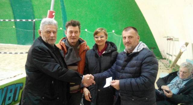 """Raccolti 2600 euro con il """"Torneo dei quartieri"""""""