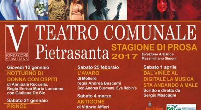 Promozione Natalizia e nuovi orari apertura per abbonamenti al Teatro Comunale