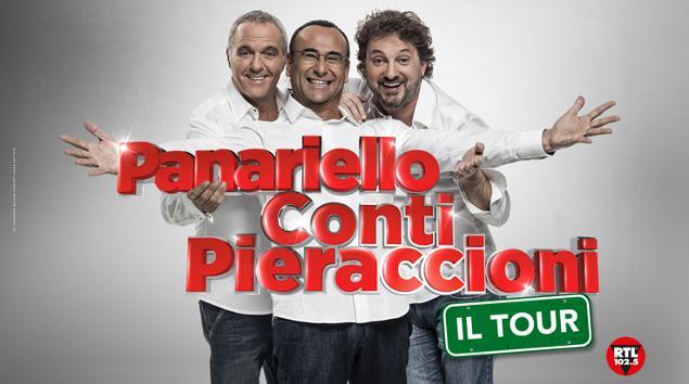 Conti, Panariello e Pieraccioni tornano in tour a Livorno