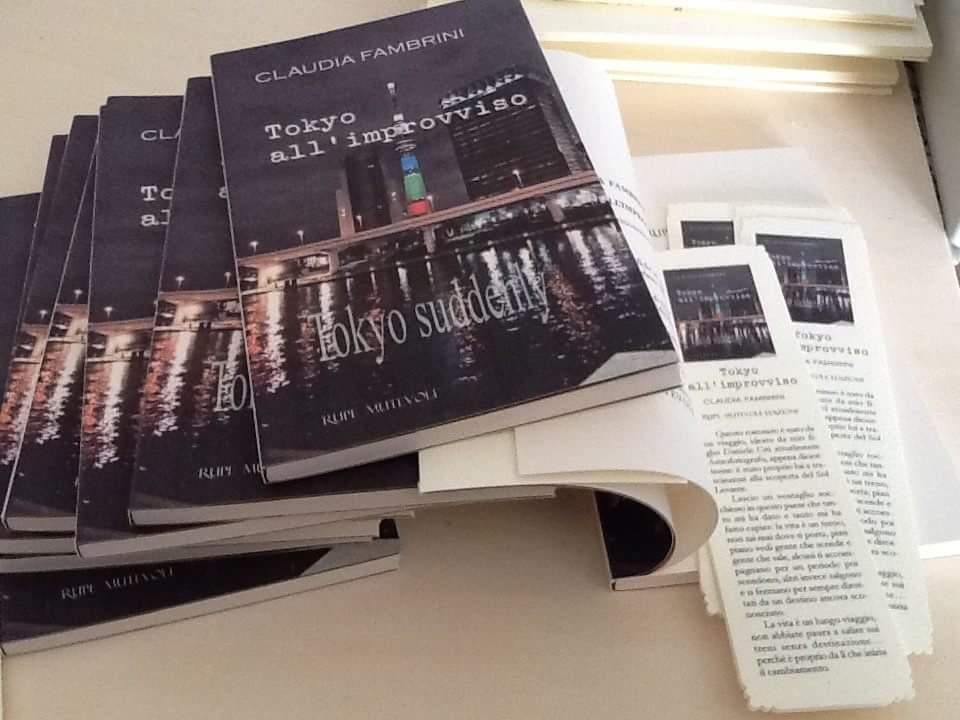 """A Camaiore presentazione di """"Tokyo all'improvviso"""""""