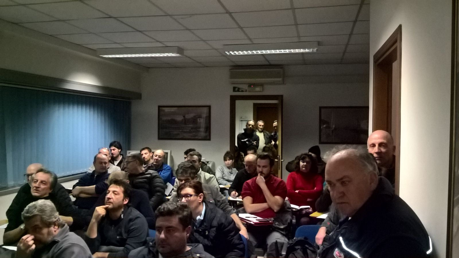 Riunione aziende impianti termici con SEVAS a Viareggio