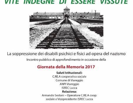 Giorno della Memoria. Gli appuntamenti nel Comune di Viareggio