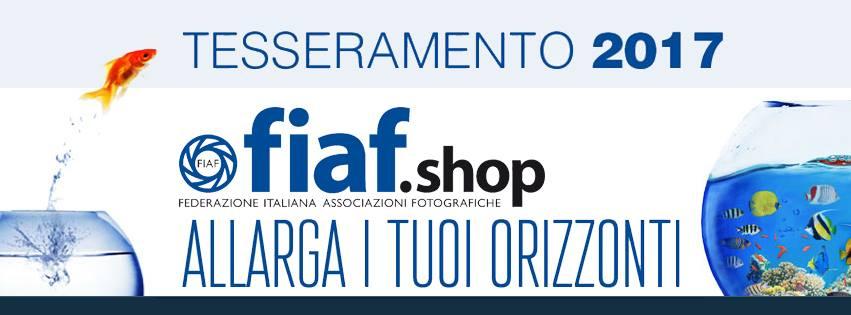 Campagna di tesseramento FIAF 2017, per fotografi amatoriali