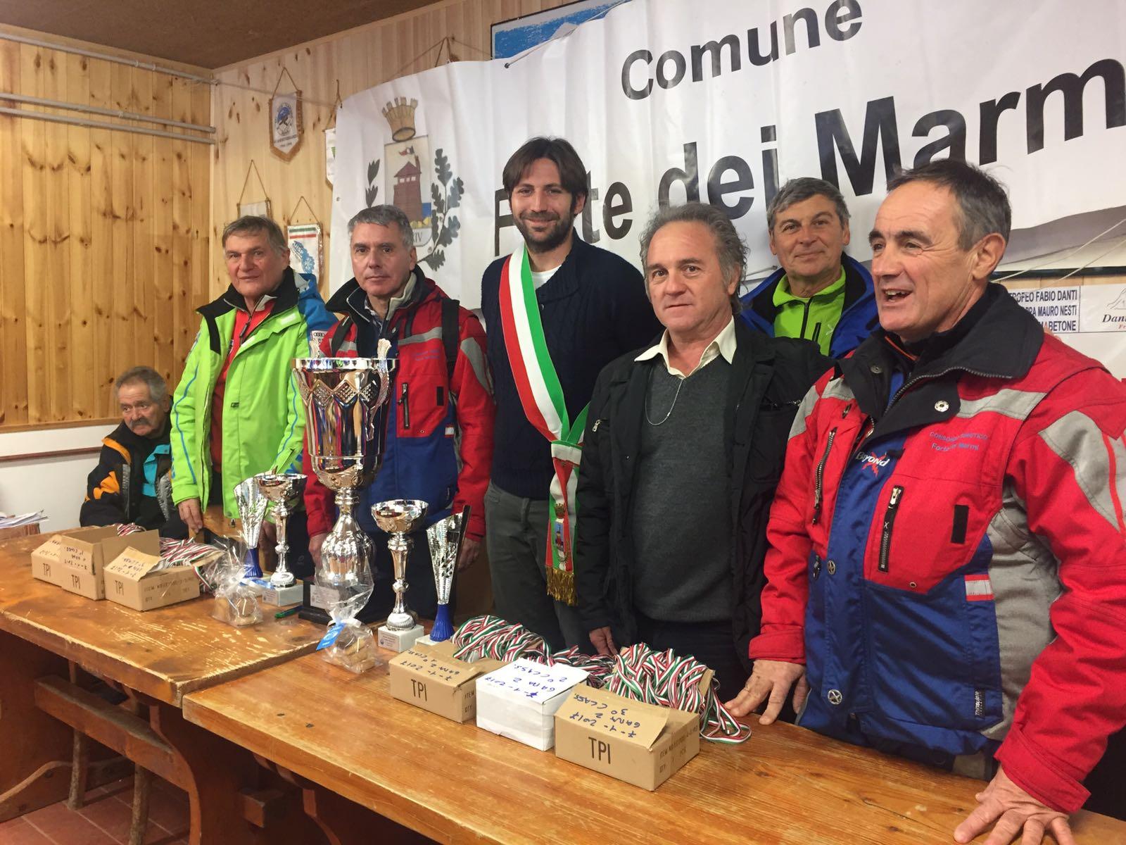 Premiati all'Abetone i vincitori della Trofeo Città Forte dei Marmi