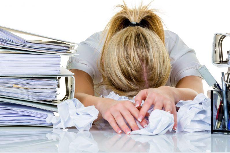 burnout stress da lavoro