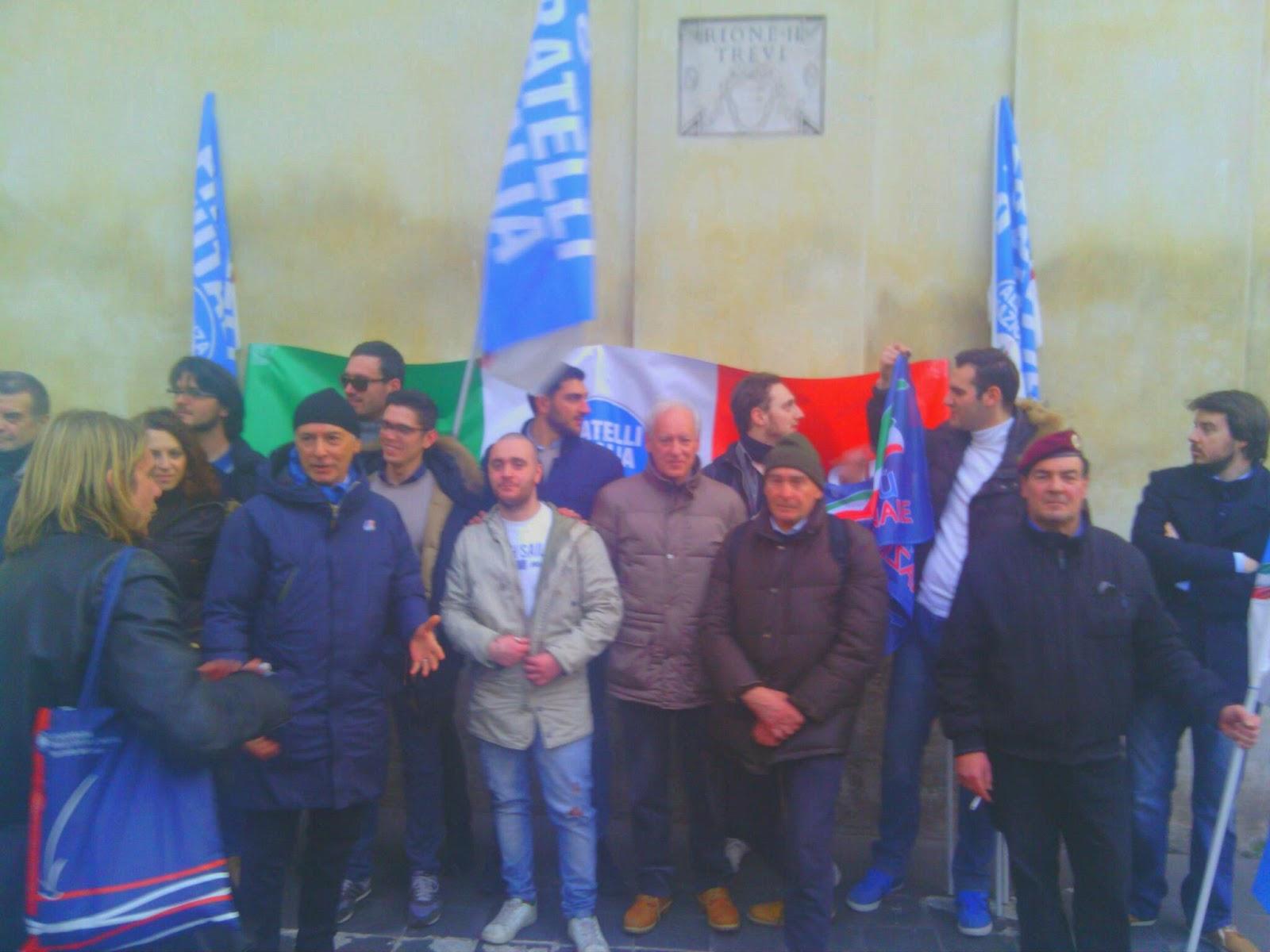 Fratelli d'Italia Lucca-Versilia a Roma per la rivoluzione di Giorgia Meloni