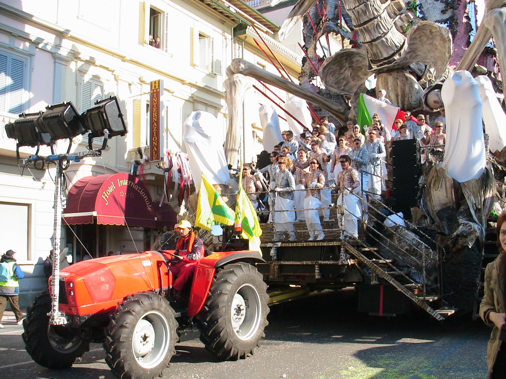 I trattori di Coldiretti protagonisti al Carnevale 2017