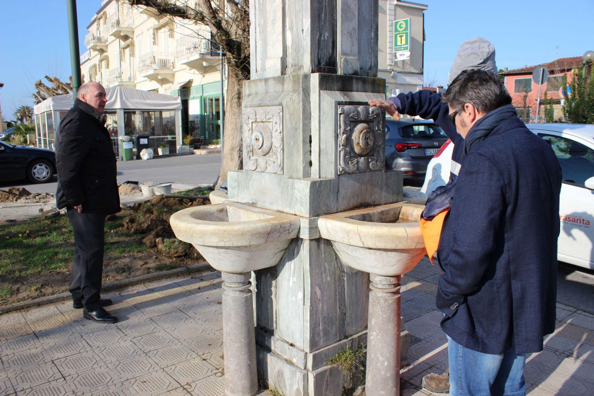 La fontana di Fiumetto verrà riaccesa, partiti i lavori