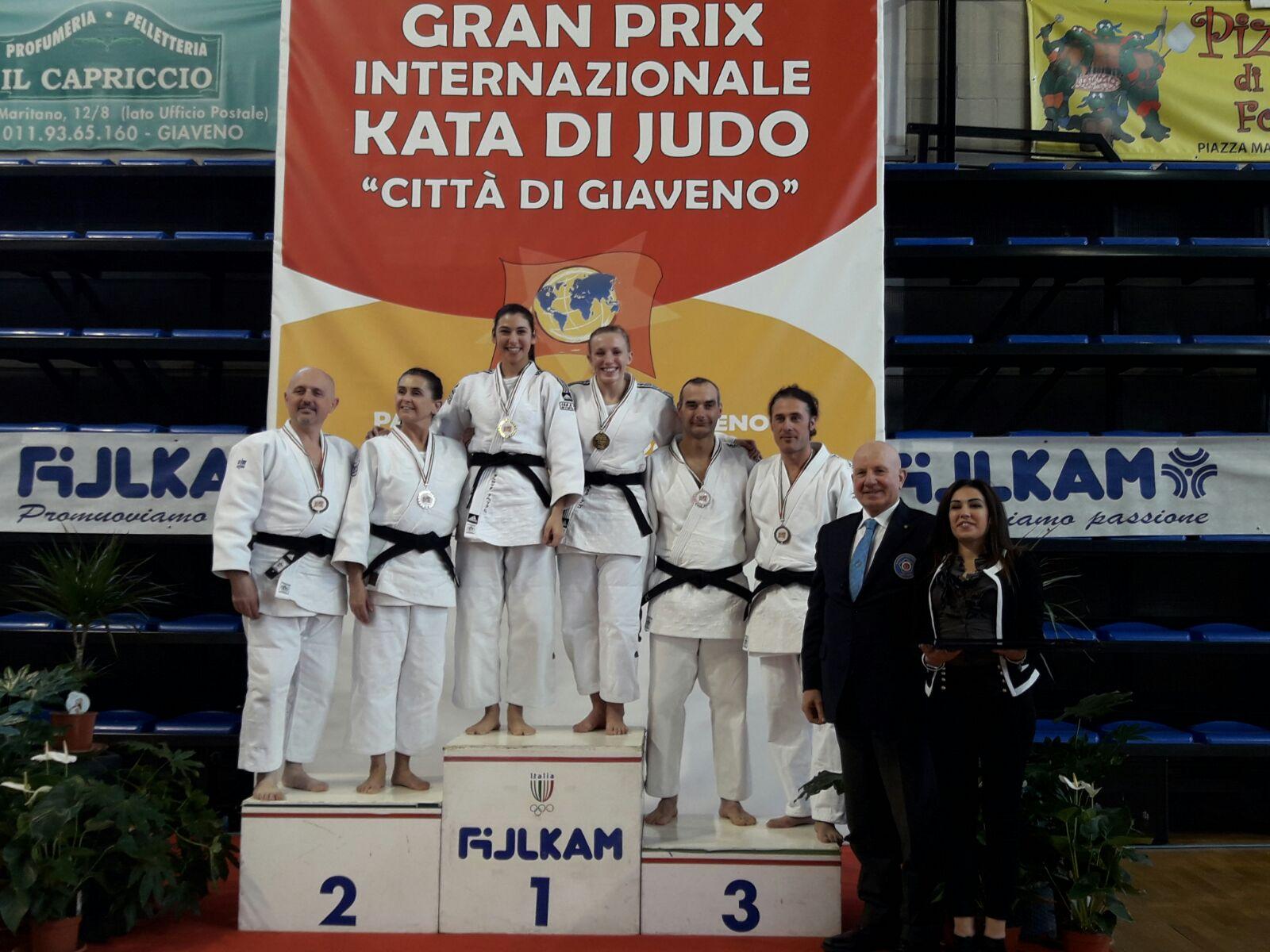 """Terzo posto per Bibolotti e Benelli al Gran Prix di Judo """"Kata"""""""