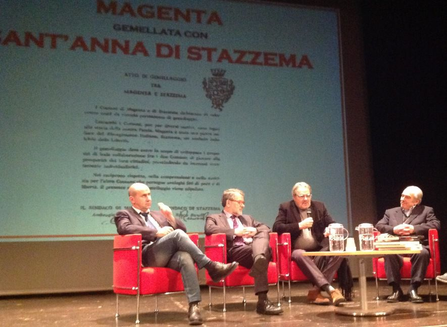Rinnovato il gemellaggio tra Stazzema e Magenta del 1975