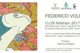 Invito mostra Federico Volpi