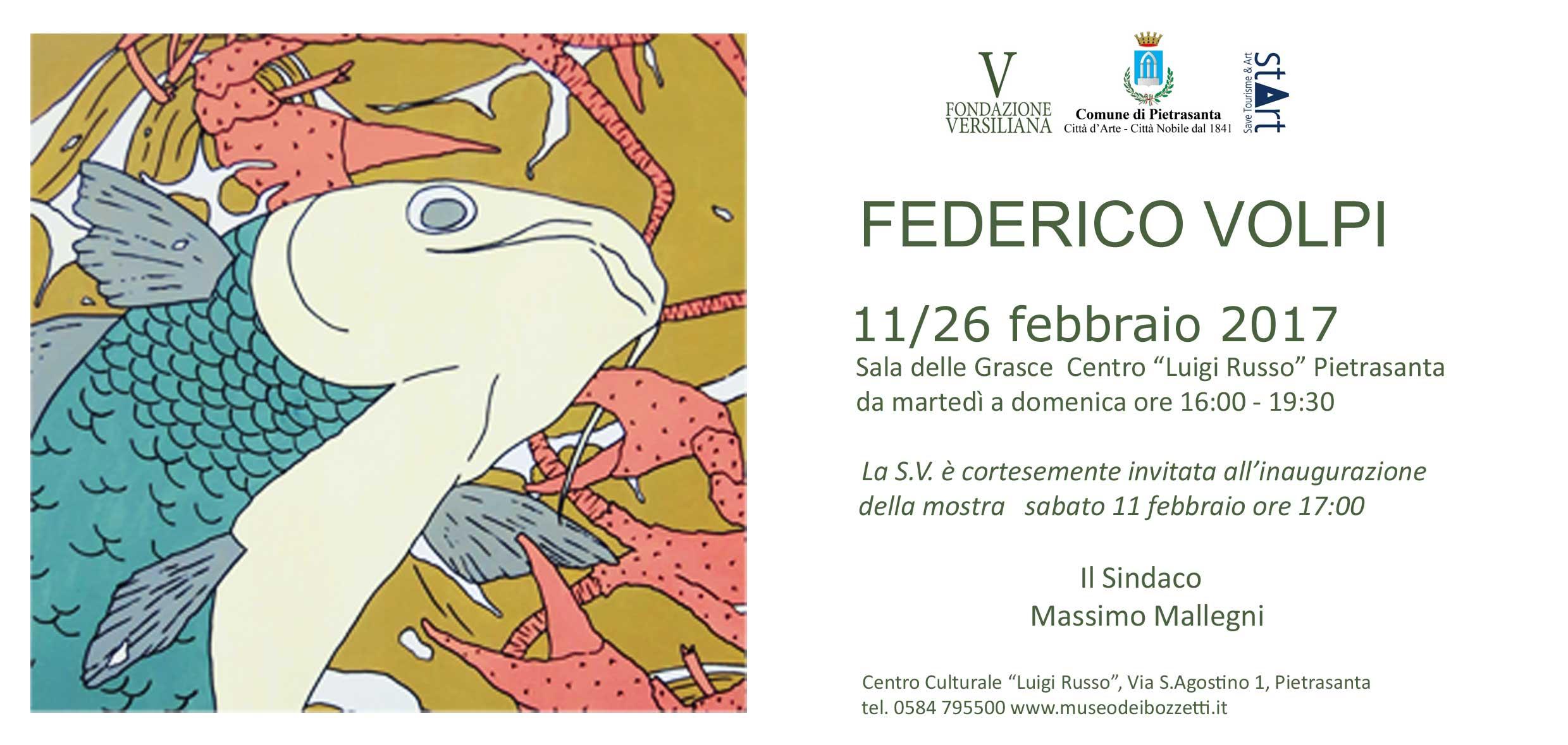 Forme acquatiche e paesaggi lacustri nella mostra di Federico Volpi