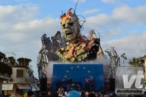 Le costruzioni di Prima Categoria del Carnevale di Viareggio 2017