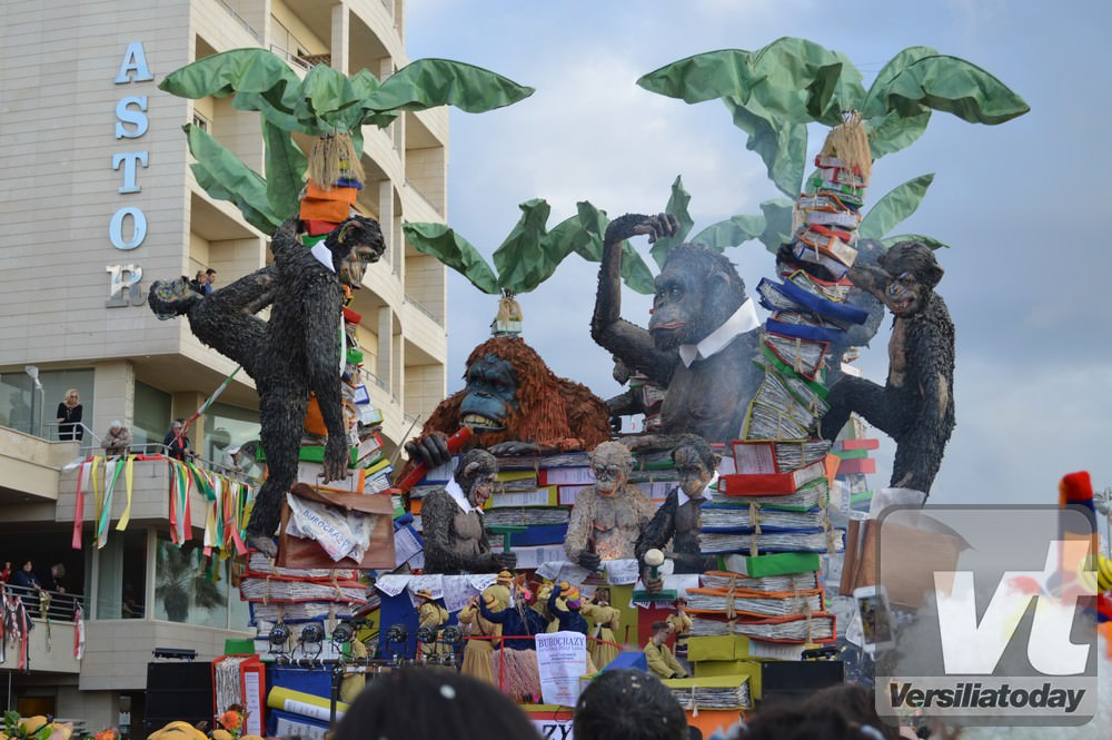 Il Carnevale di Viareggio rende omaggio a Gilbert Lebigre