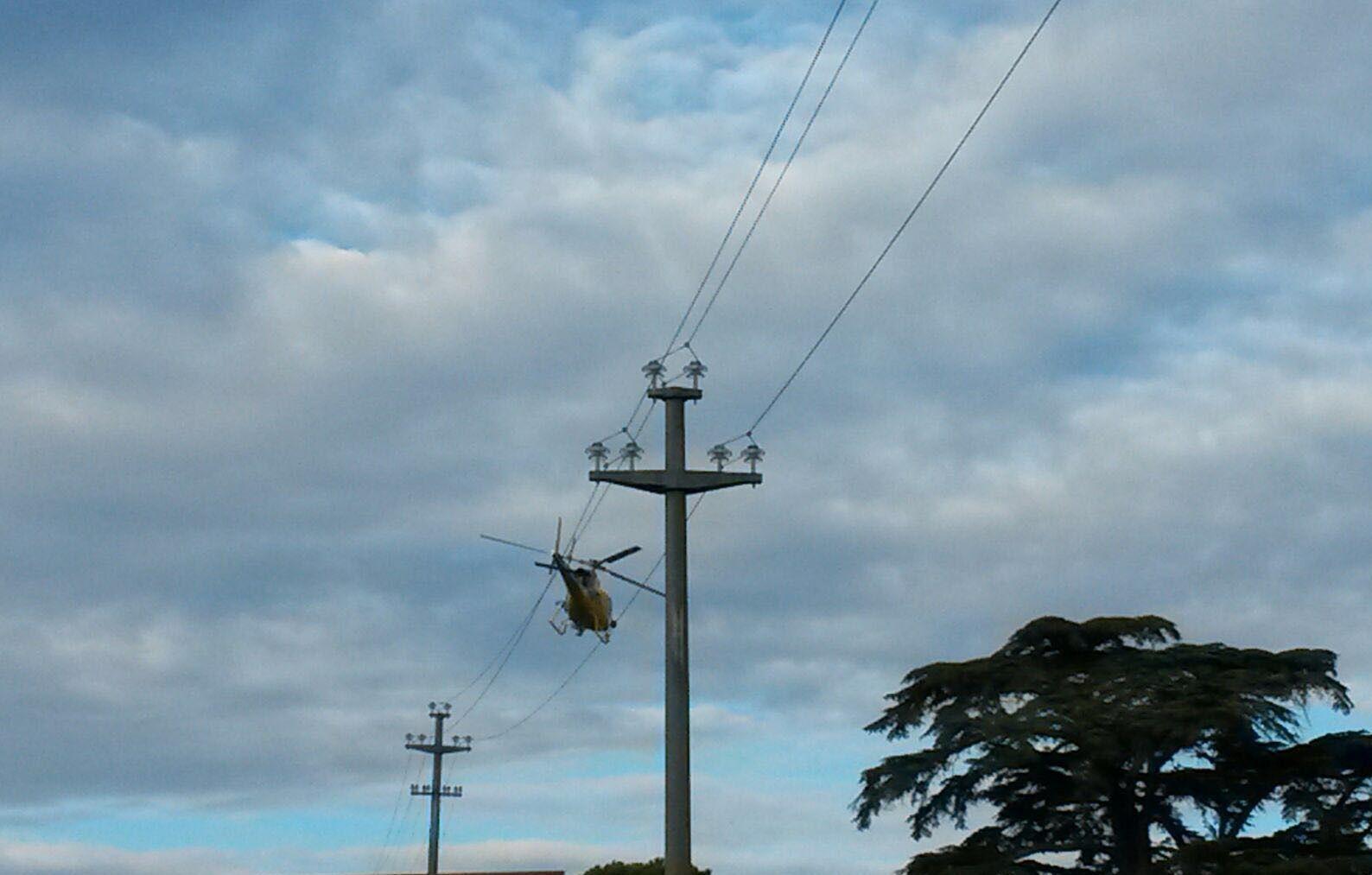 Enel, al via le ispezioni in elicottero delle linee