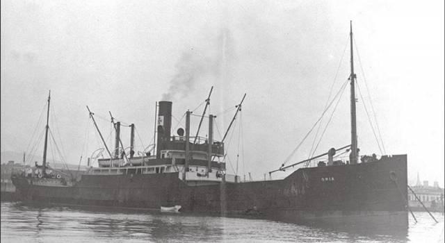 Commemorazione del naufragio del piroscafo Oria