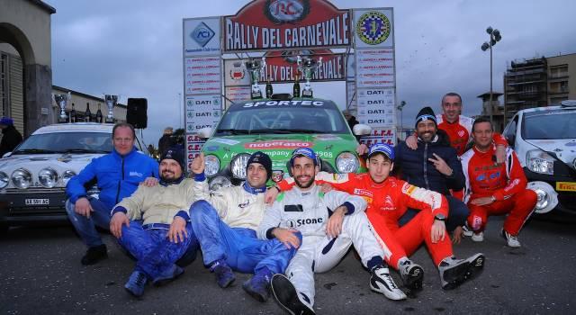 Elenco partecipanti al Rally del Carnevale