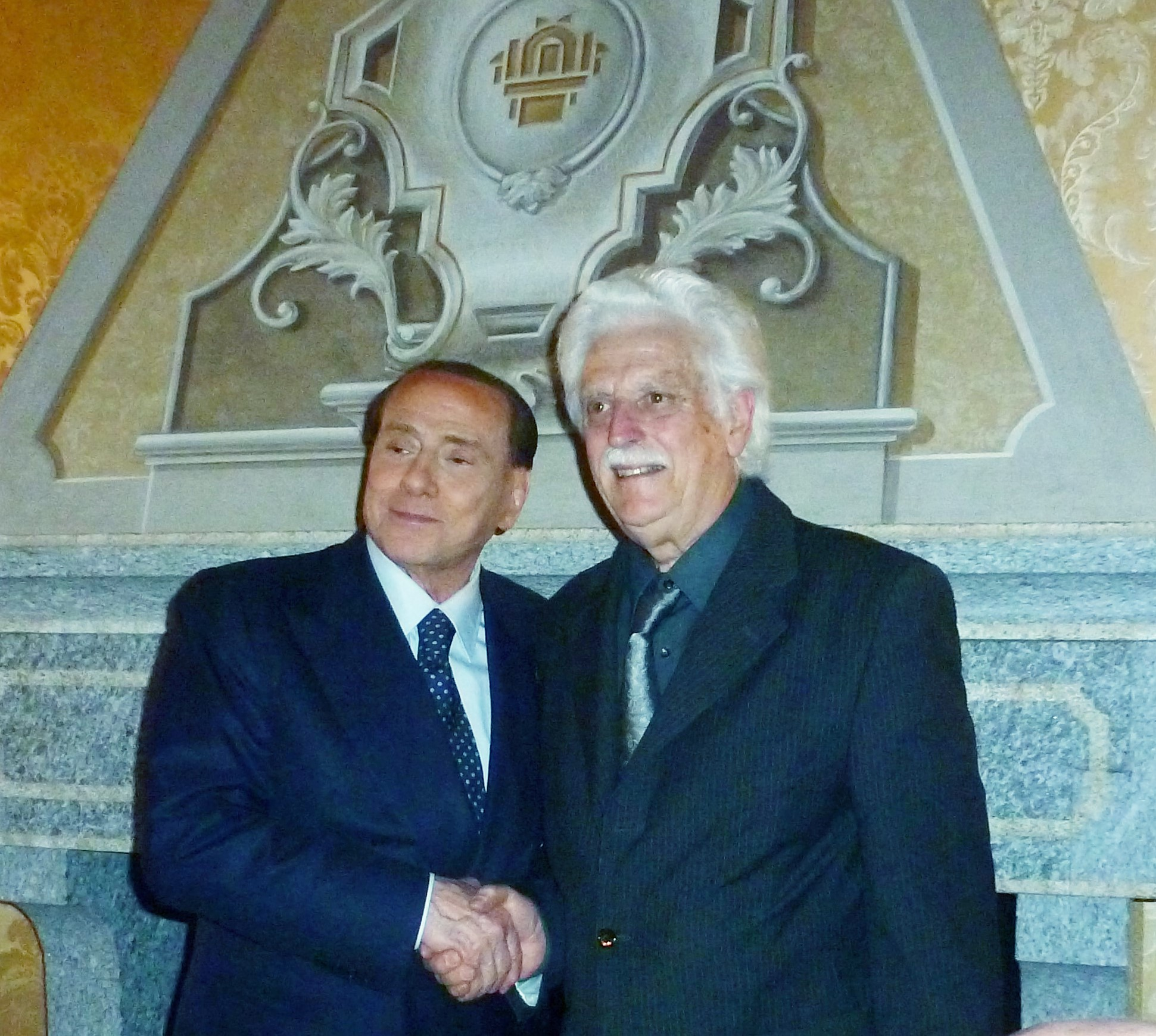 Silvio Berlusconi incontra a Villa Gernetto le delegazioni dei Seniores