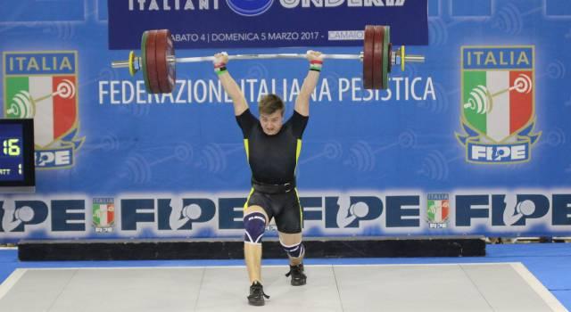 Pesi: Nuovi campioni e tanti record a Camaiore